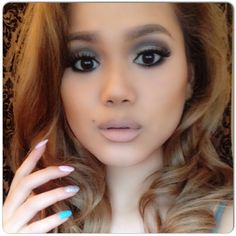 Makeup if the day look I call this the Queen Bee look