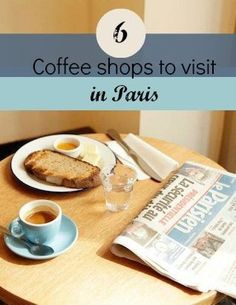 Bucket list item: drink coffee in Paris.