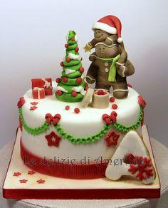 Cutest Christmas Cake Ever!
