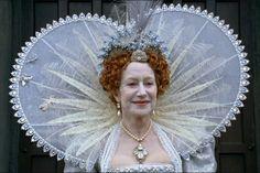 Helen Mirren as Queen Elizabeth I
