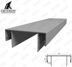 CI-2410 Ceiling Channel - No Shadowline