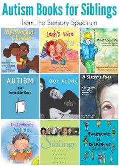 Autism Books for Siblings - Great reads for children who have a brother or sister on the Autism Spectrum (ASD) Autistic Children, Children With Autism, Autism Facts, Autism Books, Autism Resources, Autism Activities, School Resources, Teaching Resources, Teaching Ideas