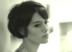 Greta Apfelkern #short hair #pixie #short bob