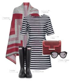 MariaOnPoint Trendy Thursday Rain Rain Go Away Outfit Idea 2017 Classy Outfits, Cool Outfits, Classy Clothes, Thursday Outfit, Rain Go Away, Going To Rain, Fashion Books, Fashion Plates, Autumn Fashion