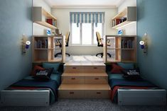 45 Best Small Bedroom Ideas On A Budget Bedroom Ideas For Small Rooms Bedroom Budget Ideas Small Small Bedroom Ideas On A Budget, Bedroom Design On A Budget, Small Bedroom Designs, Small Room Design, Budget Bedroom, Small Room Bedroom, Kids Room Design, Small Living Rooms, Trendy Bedroom
