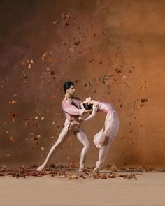 """American Ballet Theatre  From """"The Leaves are Fading""""  Julie Kent and Marcelo Gomes"""