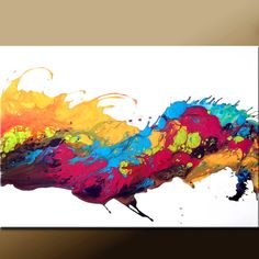 can you feel it?...I do mostly splatter paint art...I come up with ideas and gets more ideas off the first one...they turn out to be great