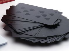 Black Design Spielkarten