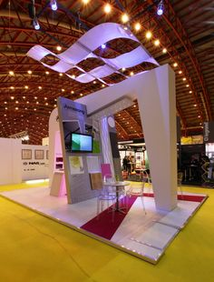 Armstrong Infusions Canopies on Exhibition Stand