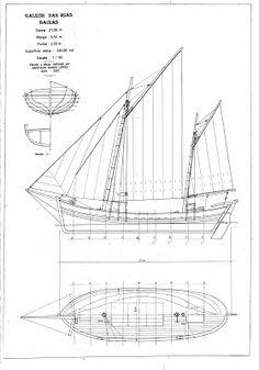 Quinze marins sur le bahut du mort...: plan galeon das rias baixas