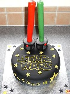 Star Wars Cake...savannah and travis!!