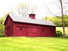 Livestock barn, in a more coordinating color with the other farm buildings