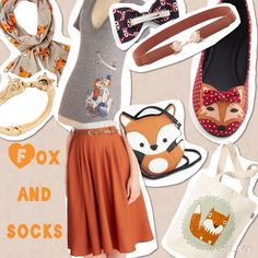Fox and Socks