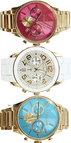 ~Michael Kors - The Preppy Chic Watch Collection | The House of Beccaria#