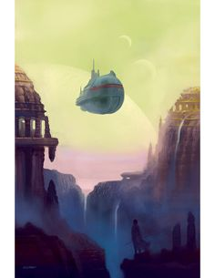 Eric Lofgren Presents: Old Worlds - Misfit Studios | Eric Lofgren | Publisher Resources | DriveThruRPG.com Space Fantasy, Fantasy Art, Fantasy Illustration, Digital Illustration, Film Inspiration, Stock Art, Environmental Design, Sci Fi Art, Science