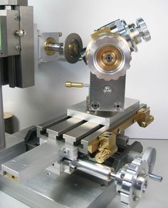 Adjustable carriage stops for the MINI-Bonelle-II (the grinding apparatus for universal grinding machine)