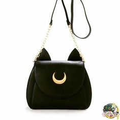 NEED!  How and where do I find this  Luna bag? I fly into Tokyo tomorrow and it's only available there! #sailormoon #luna #tokyo