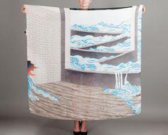 foulard / scarf innondation milleneufcentquatrevingtquatre @lexception.com