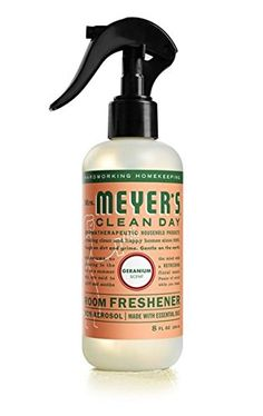 Mrs. Meyer'S Room Freshener Geranium 8 Oz ** For more information, visit image link. (This is an affiliate link) #HomeFragrance