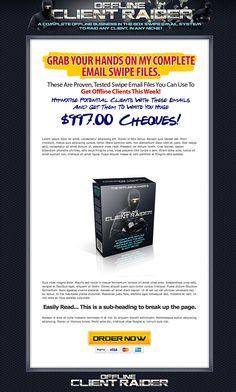 QuickSiteStudio.com Portfolio - Offline Client Raider - ninja style!