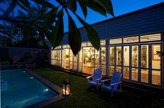 Palmetto Outdoor Spaces offers Weatherwell Shutters for your home.  Imagine this look in your SC backyard.