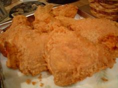 "Popeye s Fried Chicken Copycat from Food.com:   								Popeye's Fried Chicken started in New Orleans in 1972.  They sold ""traditional"" mild fried chicken but business was just O.K. They realized they'd have to sell a spicier alternative to their standard chicken recipe if they wanted to impress flavor-seeking New Orleanians.     *Note - This is a copycat recipe, to expect it to be ""exactly"" like Popeye's is a little unrealistic."