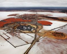 earth Edward Burtynsky.  deadpan project
