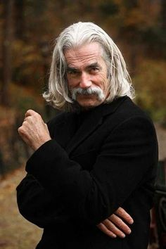Insane what is it about Sam Elliott…not classically handsome but oh so sexy.that voice. The post what is it about Sam Elliott…not classically handsome but oh so sexy. Older Mens Long Hairstyles, Men Hairstyles, Formal Hairstyles, Boy Haircuts, Hairstyles Pictures, Funky Hairstyles, Celebrity Hairstyles, Straight Hairstyles, Photo Portrait