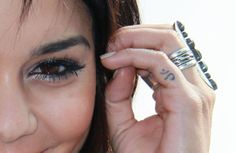 The Most Adorable Tiny Tattoos in Hollywood Vanessa Hudgens