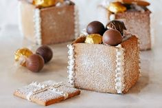 Created by Curtis Stone these delicious gingerbread boxes are the perfect gift to share with family and friends!