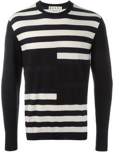 ボーダー柄セーター | MARNI マルニ | メンズ - トップス - ニット・セーター | Color | 海外通販ならLASO(ラソ)