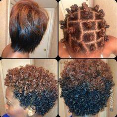 bantu knots on natural hair | beautiful Bantu Knot out | Natural Hair Care