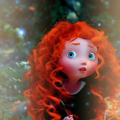 Ok, we all have to admit that Merida was the cutest little kid of all the other Disney movies Disney Pixar, Walt Disney, Cute Disney, Disney Dream, Disney And Dreamworks, Disney Animation, Disney Magic, Disney Art, Disney Movies