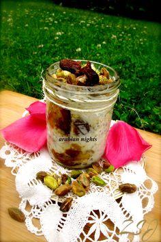 Zain's Swiss Summer Oats -     Arabian Nights    Complete Recipe: http://www.zainsaraswatijamal.com/site/recipes/zains-swiss-summer-oats-10-signature-flavours/