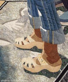 aqs quilt millie | close up, Hollywood and Highland by Linda Stone. West Coast Wonders ...
