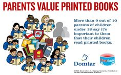 First Book Infographic: Parents Value Printed Books