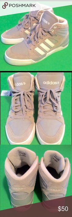 Adidas BBNEO Raleigh Mid Men's Shoes! Like new! Worn once. Size 8.5 men's shoes. Original tag still in shoe. No flaws, reasonable offers will be accepted! Adidas Shoes Sneakers