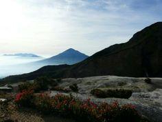 Papandayan Volcano Garut West Java