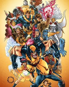 Best of the Best  By Jerry Gaylord  #marvelcomics #Comics #marvel #comicbooks #avengers #captainamericacivilwar #xmen #xmenapocalypse   #captainamerica #ironman #thor #hulk #hawkeye #blackwidow #spiderman #vision #scarletwitch #civilwar #spiderman #infinitygauntlet #blackpanther #guardiansofthegalaxy #deadpool #wolverine #daredevil #drstrange #infinitywar #thanos #magneto #cyclops http://ift.tt/1Uco4wK