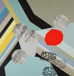 "Saatchi Online Artist Claudia Vivero; Painting, ""collage painting"" #art"
