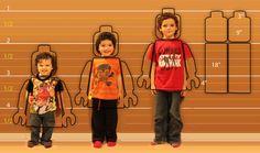 Lego Costume Instructions