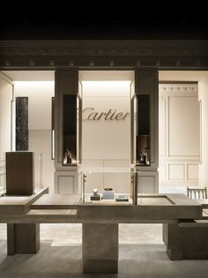Tristan Auer Cartier #jewelry shop design                              …