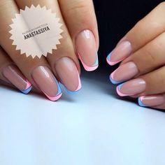 How to Choose Nail Tips – Page 7238964505 – NaiLovely Gelish Nails, Nail Manicure, My Nails, Elegant Nails, Classy Nails, French Nails, Crome Nails, Minimalist Nails, Dipped Nails