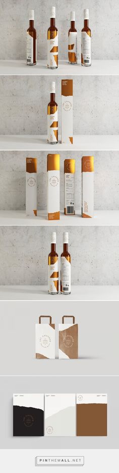 This Syrup Packaging is Flashy and Classy — The Dieline Packaging & Branding Design & Innovation News Wine Design, Bottle Design, Label Design, Package Design, Design Design, Honey Packaging, Beverage Packaging, Bottle Packaging, Bottle Mockup