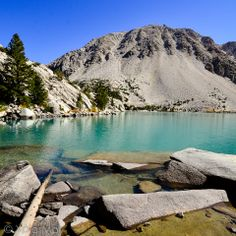 Second Lake, Big Pine Creek North Fork Trail, Inyo National Forest, California #xplormor