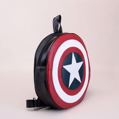 Large and medium sturdy backpack for real fans of Captain America!