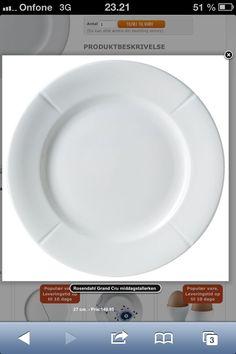 Middags Tallerken 27 cm