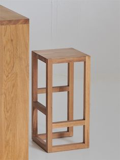 Wooden Stool STEP - Vitamin design