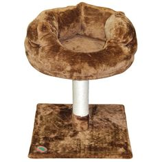 "Go Pet Club 24"" Cat Perch Color: Brown"