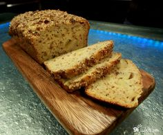This easy recipe uses yogurt in place of fats, yielding a moist flavorful, low fat and healthy gluten free apple bread.